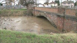 Holderness Drain in Hull