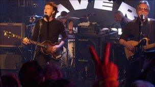 Paul McCartney returned to play The Cavern in December 1999