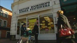 Tunbridge Wells British Bookshops