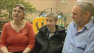 Zena, Andrew and Andrew Humphrey