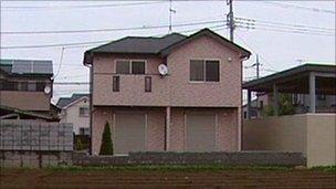 A house on the books of estate agent Yoshihiro Kanuma
