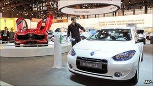 Renault Fluence electric car