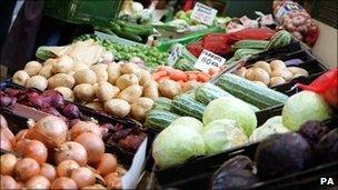 Market stall (generic image)