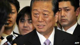 Ichiro Ozawa (31 Jan 2011)