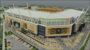 Image of plans for Molineux