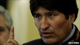 Bolivian President Evo Morales, 1 January 2011