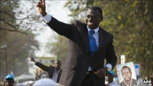 Ugandan opposition Presidential candidate Kizza Besigye