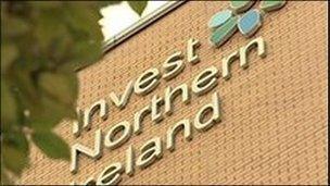 Invest NI logo