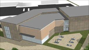 Proposed Tesco store in Mablethorpe