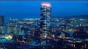 CGI of Aurora building