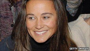 Philippa Middleton, sister of Kate