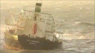 The Sea Empress