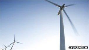 Wind turbines Swindon