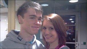 Ryan Jones and Rachel McClean