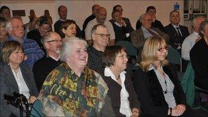 Audience at Any Suffolk Questions