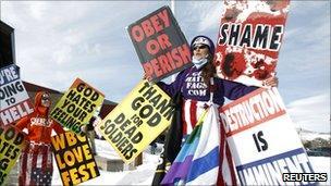 Westboro church protest
