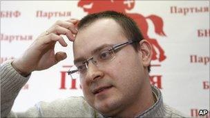 Ales Mikhalevich, Belarus presidential candidate (28 Feb 2011)