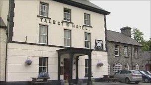 The Talbot in Tregaron