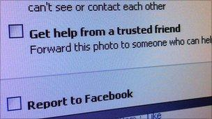 Friends to help police bullying and abuse on Facebook - BBC News