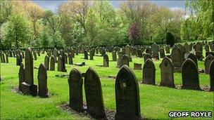 Manchester cemetery gets grant to be community resource