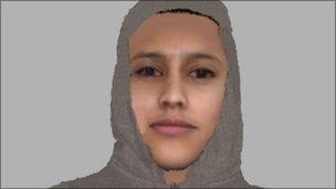 E-fit of suspected Cambridge sex attacker