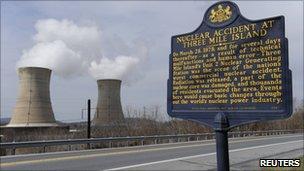 Three Mile Island plant