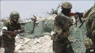 AU troops in Somalia