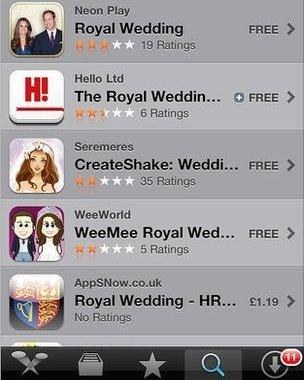 Apps aid royal wedding followers - BBC News