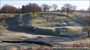 Antonine Wall - Undiscovered Scotland