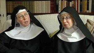 Dame Catherine and Dame Lucy
