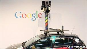 The Google Street View car