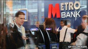 Metro Bank branch