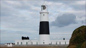 Alderney's Quesnard Lighthouse
