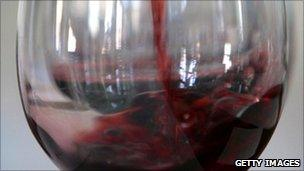 Glass of wine (generic)