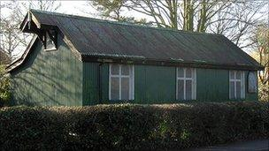 South Wonston tin church