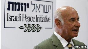 Former Shin Bet chief, Yacov Peri