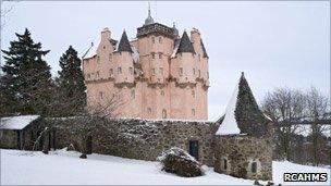 Craigievar Castle. Pic: RCAHMS