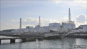 Fukushima Daiichi plant, pictured on 1 April 2011