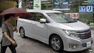 Nissan in Japan