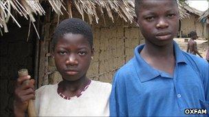 Left: Vanessa Di'ehi Zranhou. Right: Stephane Jlahou Zranou