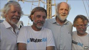 Anthony Smith, David Hildred, Andrew Bainbridge, John Russell