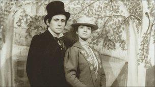 Gabriel Byrne and his then wife Ellen Barkin