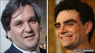 Antonio Pappano and Rolando Villazon