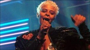 Yazz on Top of the Pops