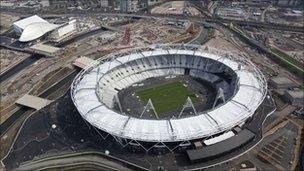 2012 Olympics site