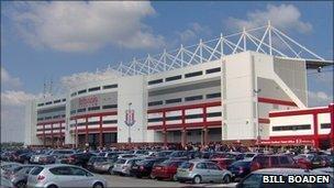 Britannia stadium (pic courtesy of Bill Boaden)