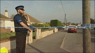 Scene of the incident in Whitstable