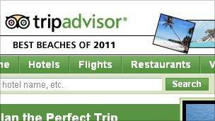 TripAdvisor website