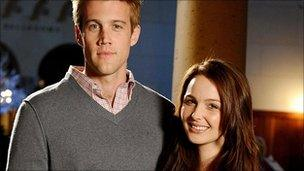 Nico Evers-Swindell and Camilla Luddington