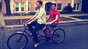 Daniel and Graeme Ross